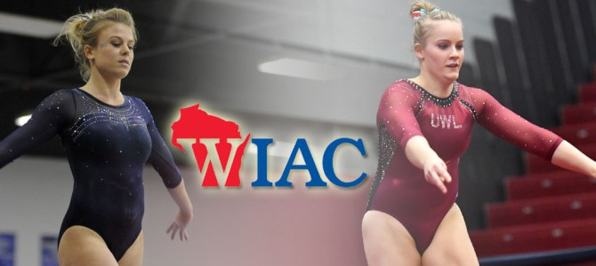 Terry and Ahrens Collect WIAC Gymnast of the Week Honors