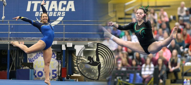 Gery and Kowalik Garner NCGA East Gymnast of the Week Honors