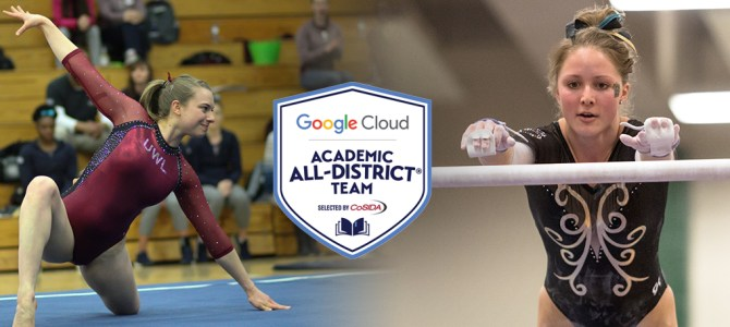 Enright and Hester Earn Google Cloud Academic All-District Honors Selected by CoSIDA
