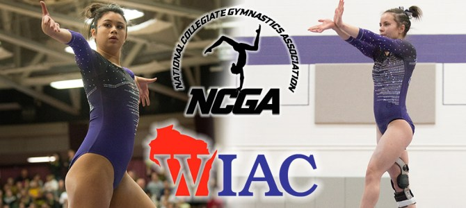 Hutton-Lau and Wilson Sweep WIAC Gymnast of the Week Honors for UW-Whitewater