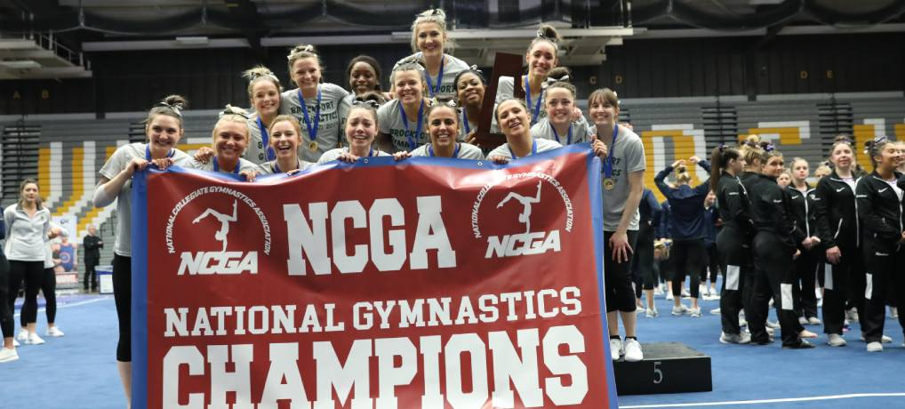 Brockport Claims First NCGA Title Since 2012; Kowalik Earns All-Around National Championship