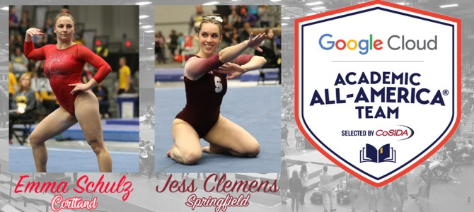 Schulz and Clemens Collect Google Cloud Academic All-America Honors