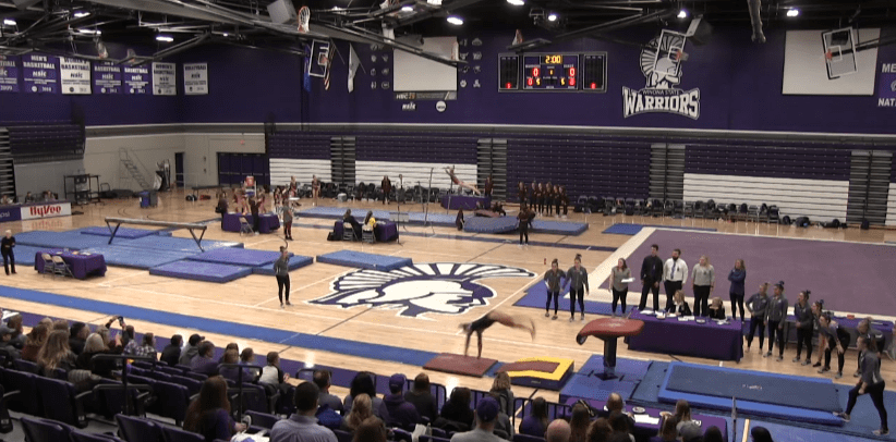 Winona State University to host the 2021 NCGA Division III Women's Gymnastics Championships