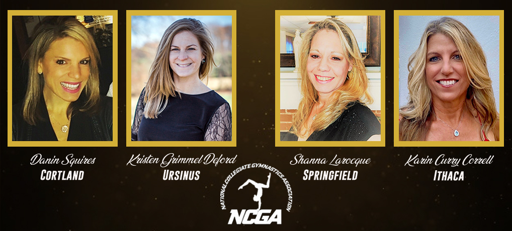 Four Gymnasts Inducted into NCGA Hall of Fame