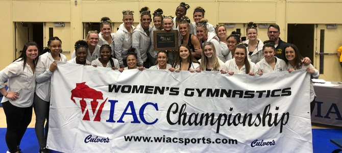 UW-Oshkosh Wins Women's Gymnastics Championship