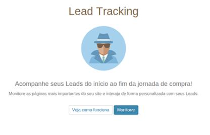 funcionalidade tracking