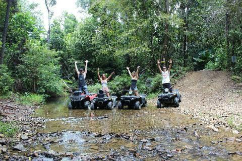 Daintree Rainforest Morning ATV Tour