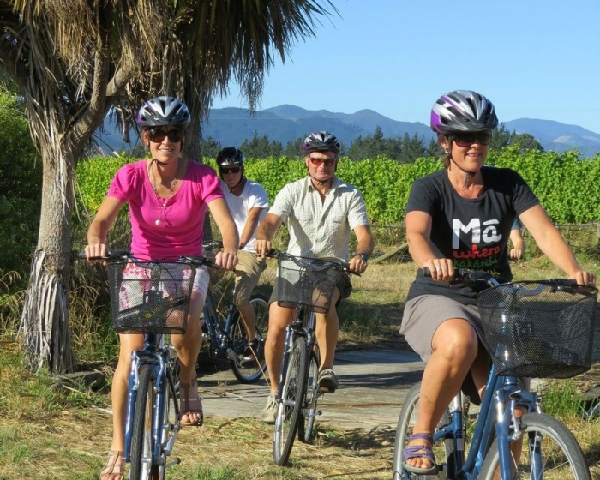 Marlborough Deluxe Full Day Bike & Wine Tour