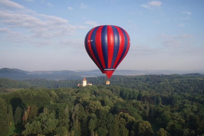 Hot Air Balloon Flight from Prague