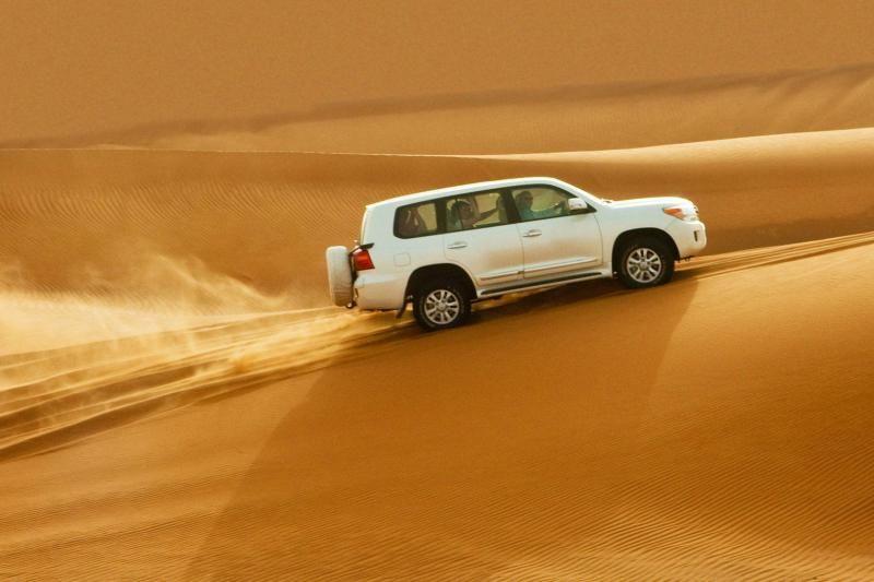 Morning Dubai Desert Safari