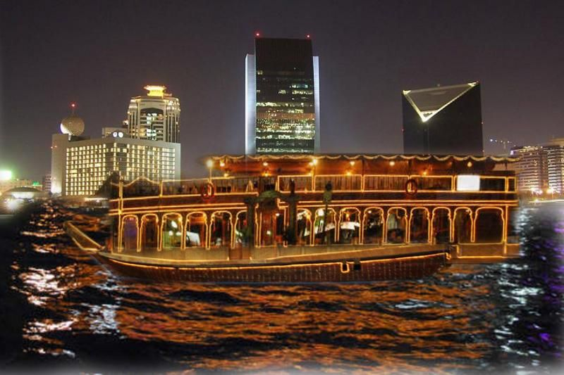 Dubai Dhow Cruise and Dinner - Regular