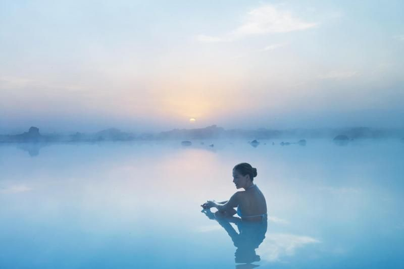 Blue Lagoon Ticket with Return Transfers from Reykjavik