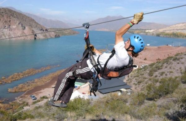 Thrilling Mendoza River Ziplining Experience