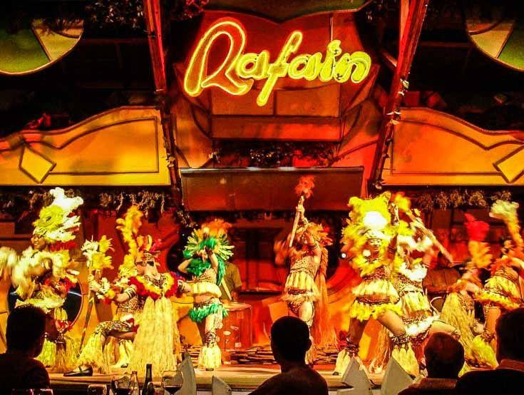 Rafain Steakhouse Dinner and Show