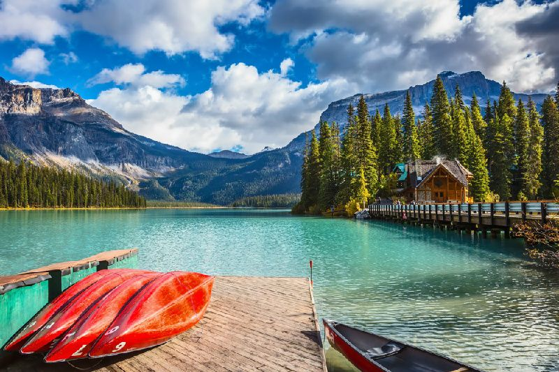 4-Day Relaxing Canadian Rockies Tour