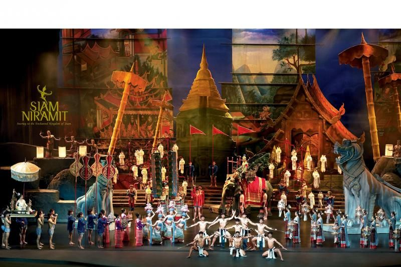 Siam Niramit Show Bangkok with Dinner Seat in Coach