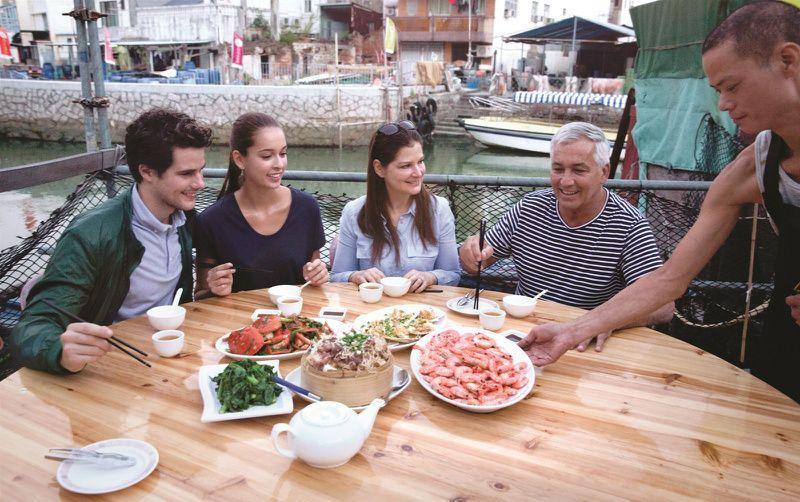 Lamma Rainbow Seafood Dinner W/ Ferry Ticket