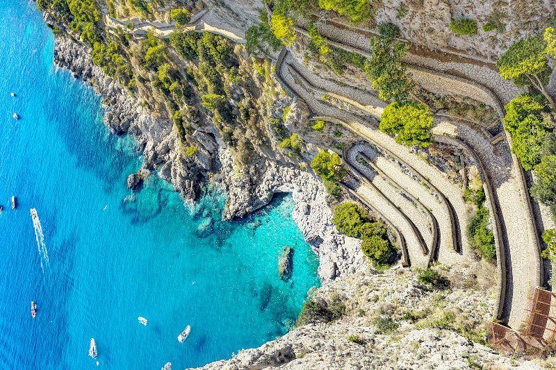 3-Day Sorrento, Capri, and Amalfi Coast Camping Holiday from Rome
