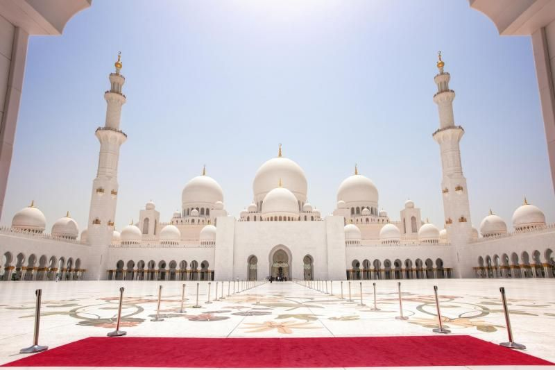 Abu Dhabi Mosque & Louvre Museum Tour From Dubai W/ Lunch