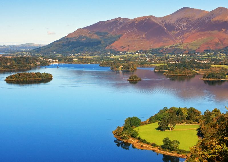 Ten Lakes Day Tour from Windermere with Derwentwater Cruise