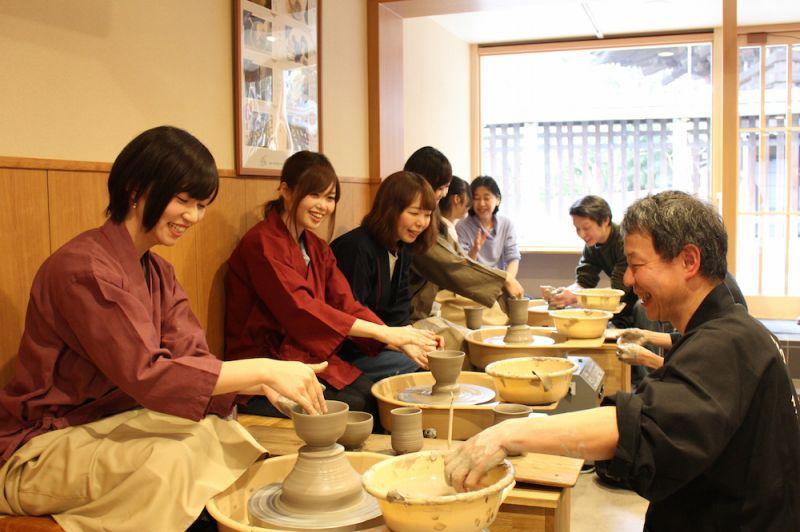 【Kyoto Zuikougama】Electric potter's wheel standard plan (Make your own favorite object)