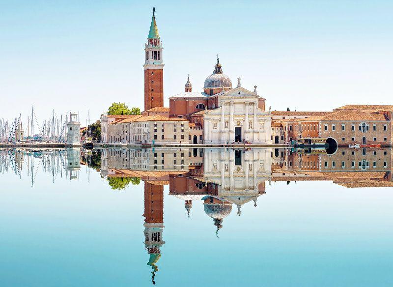 Venice Grand Canal Boat Tour with Church of San Giorgio Maggiore