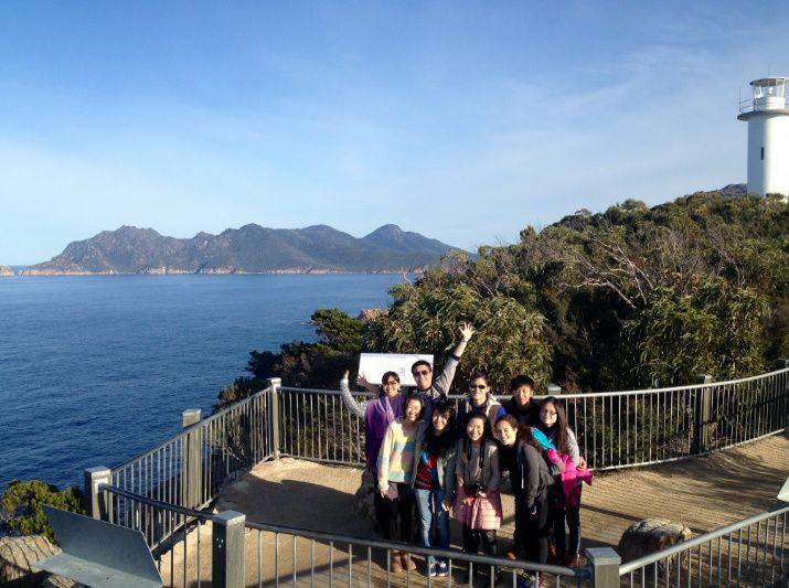Hobart to Launceston via Wineglass Bay Day Trip
