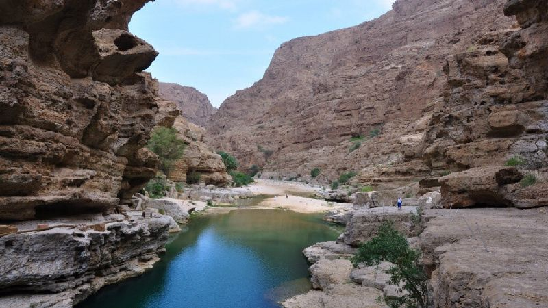 Wadi Sahtan - The Chest of Oman