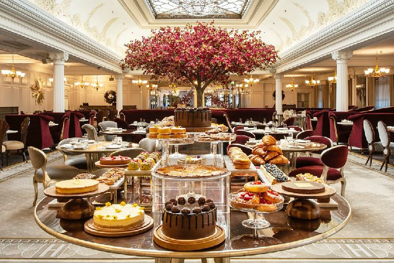 Afternoon London Bus Tour, Thames River Cruise, and Cream Tea at Harrods