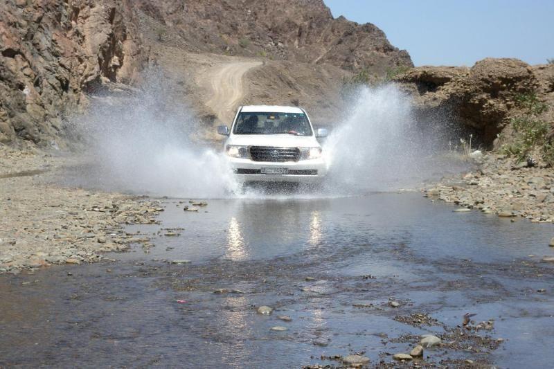 4x4 Mountain Safari in Fujairah