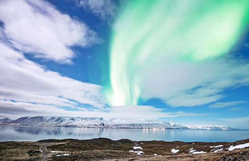 Guided Northern Lights Hunt from Akureyri