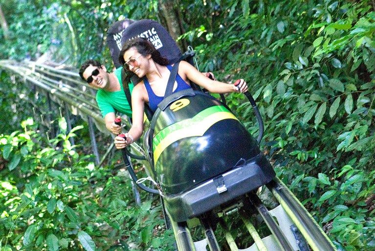 Jamaica Bobsled Adventure Tour from Falmouth