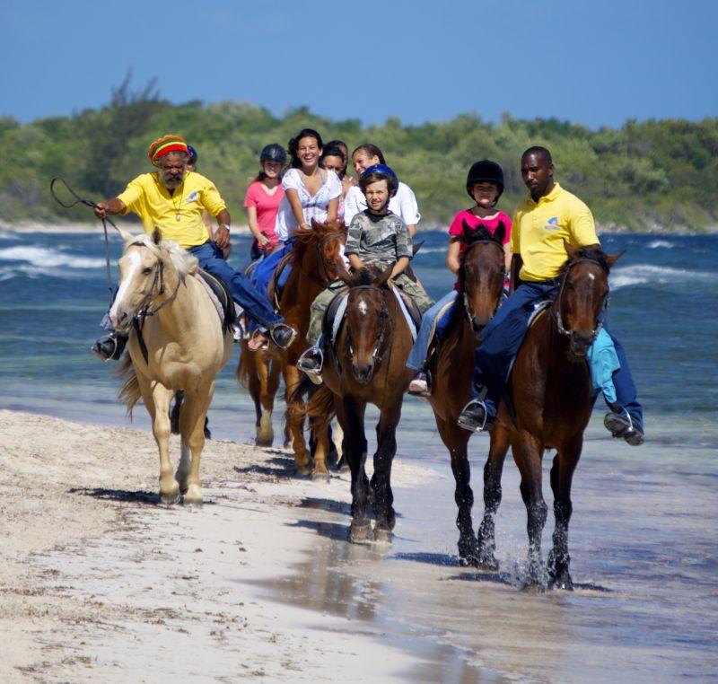 Horseback Ride and Swim Excursion from Port Antonio