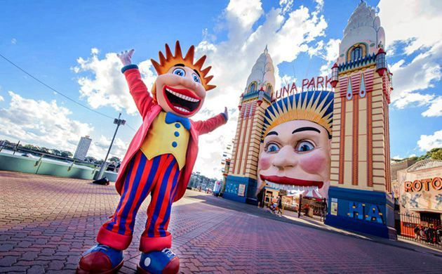 Full-Day Luna Park Sydney Admission Ticket