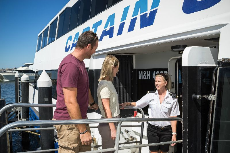 Swan River Scenic Cruise from Fremantle or Perth