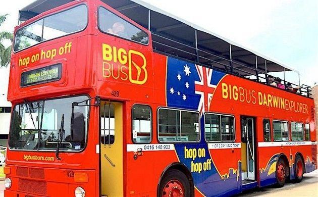 Darwin Hop-On Hop-Off Big Bus 24-Hour Ticket