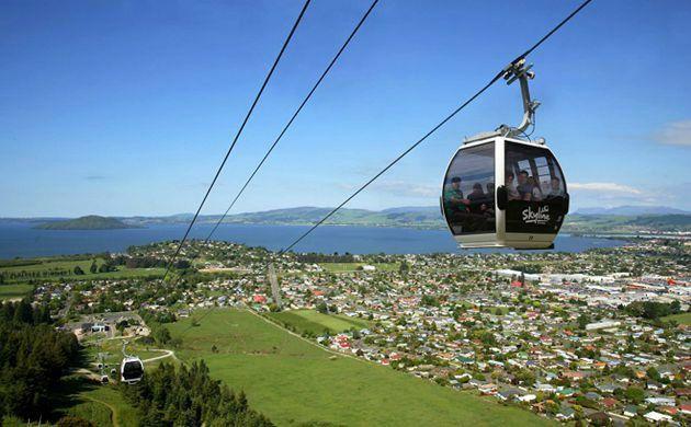 1-Day Rotorua Skyline Gondola with Buffet Lunch, Dinner, and Wine Tasting