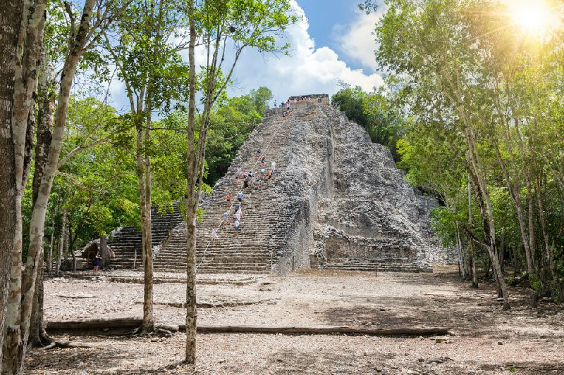 1-Day Coba-Tulum Tour from Cancun or Riviera Maya