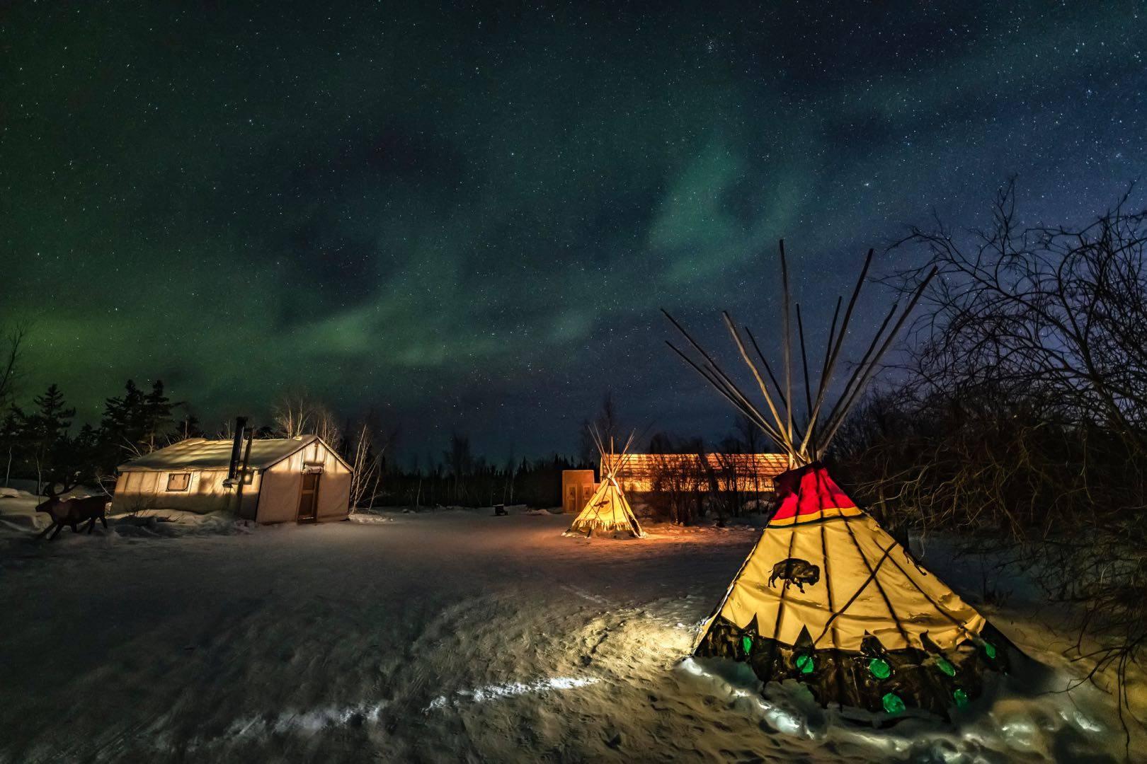 4-Day Yellowknife Aurora Viewing Tour