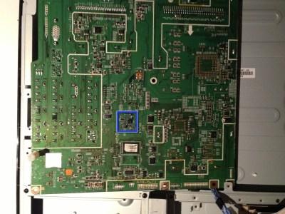 Samsung LA40R81BD 40in LCD TV Main Board EEPROM