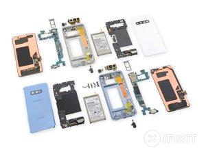 Samsung Galaxy S10 S10eの分解  iFixit
