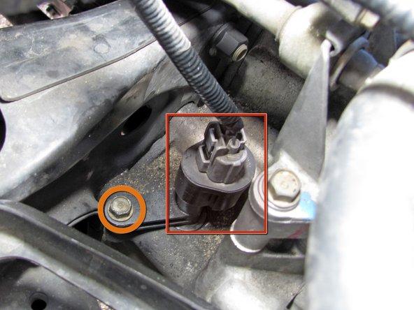 2002 Honda Accord Knock Sensor Location