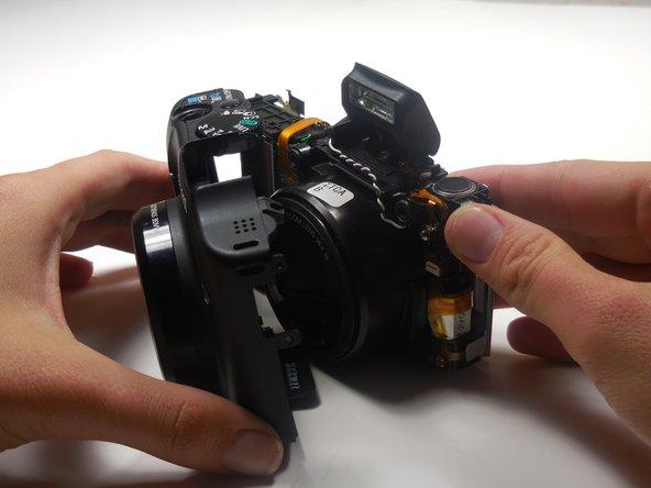 Canon PowerShot SX160 IS Shutter Button Replacement