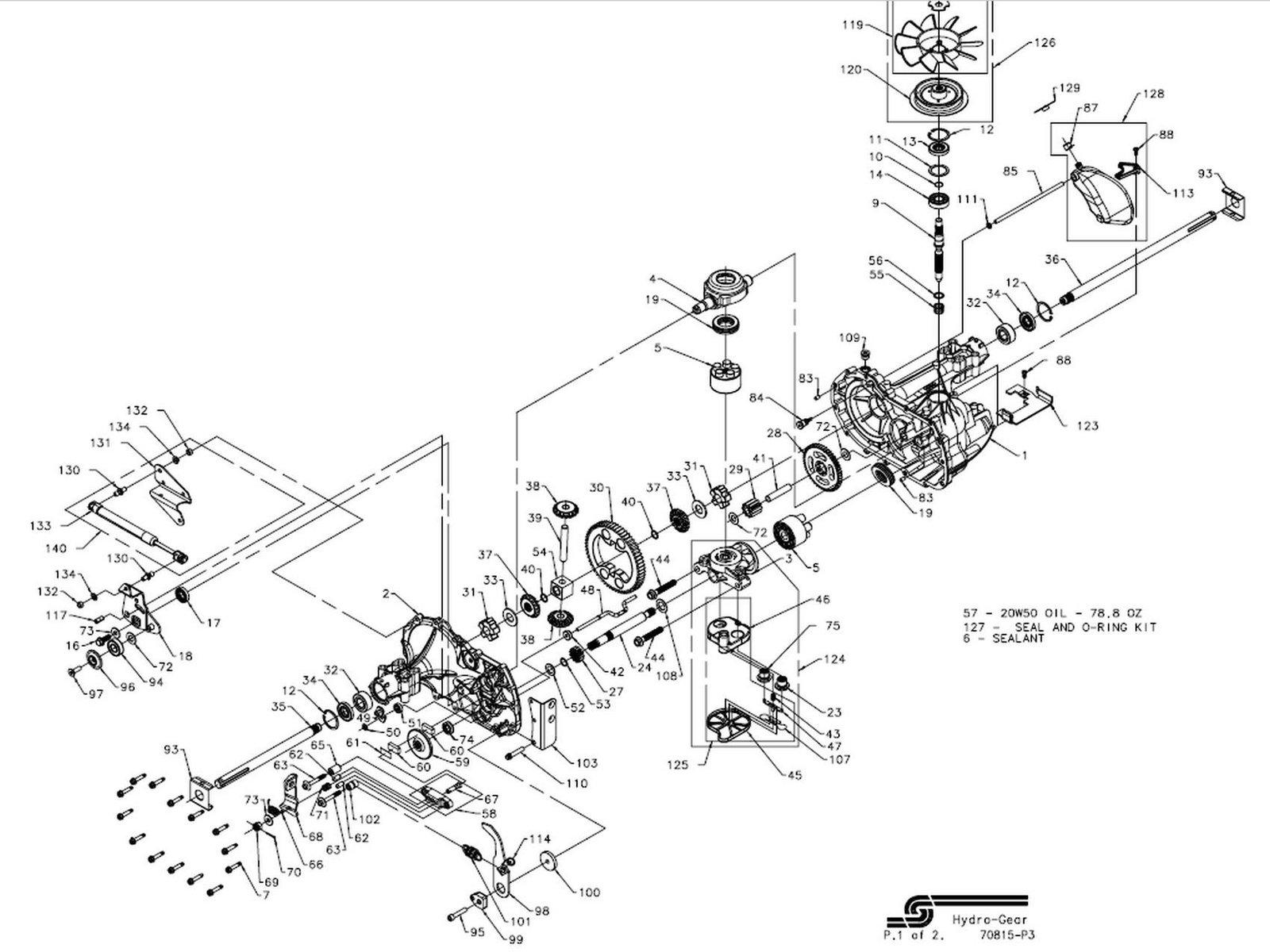 Craftsman hydrostatic transmission diagram images craftsman hydrostatic transmission diagram images