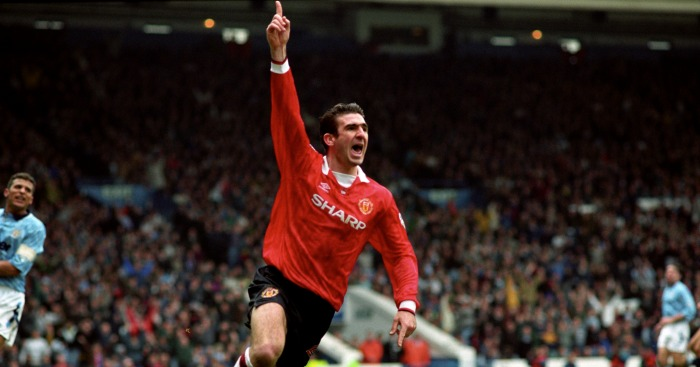 Share the best gifs now >>> 17 Times Eric Cantona Was The Coolest Footballer On The Planet Planet Football
