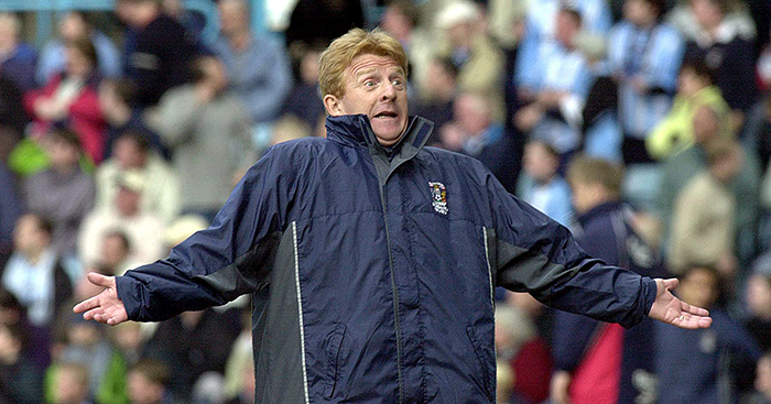Gordon Strachan Coventry City