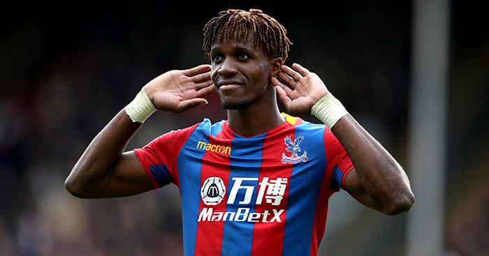 Wilfried Zaha - The last five England U21 internationals signed by Man Utd & how they fared