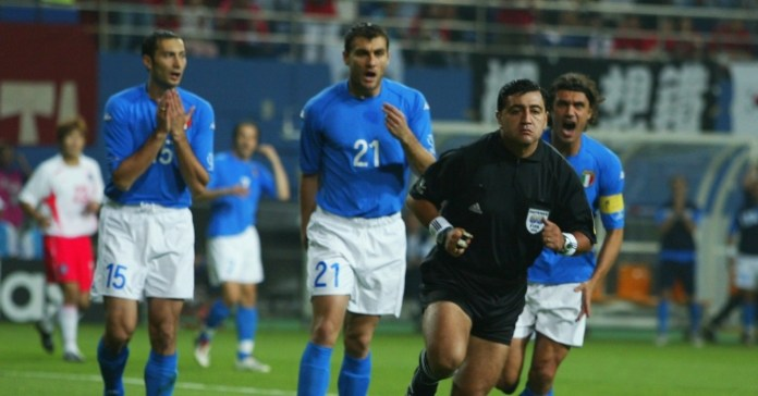 A forensic analysis of Byron Moreno's refereeing in Italy v South Korea, 2002 - Planet Football