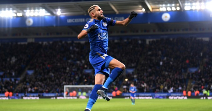 Comparing Riyad Mahrez's stats to Manchester City's existing ...