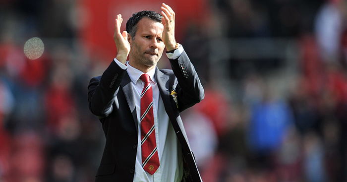 Ryan Giggs Manchester United manager Southampton